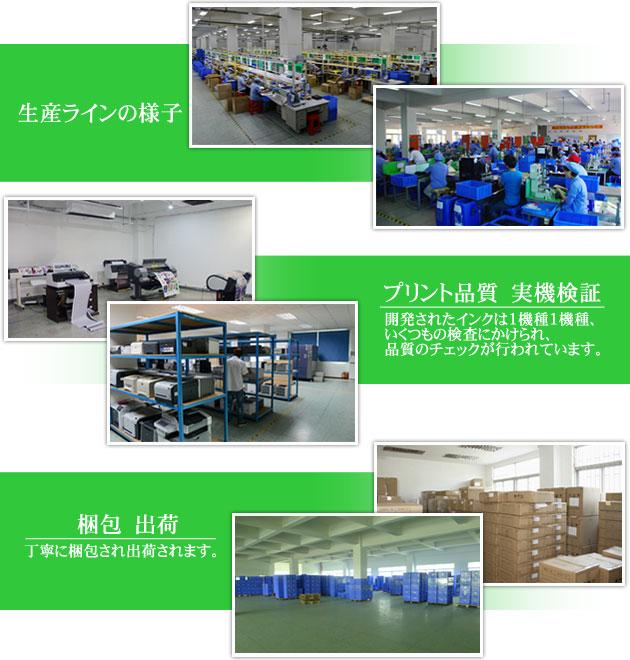 生産工場の風景写真